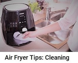 Air Fryer Tips: Cleaning