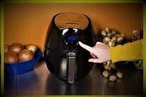 GoWISE USA Digital Air Fryer Controls